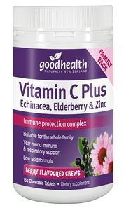 Vitamin C Plus Echinacea, Elderberry & Zinc Chews